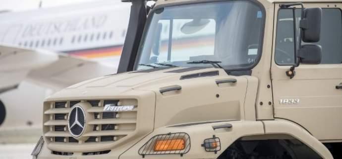 Verteidigungsministerin Dr. Ursula von der Leyen übergibt 126 Fahrzeuge an das Königreich Jordanien