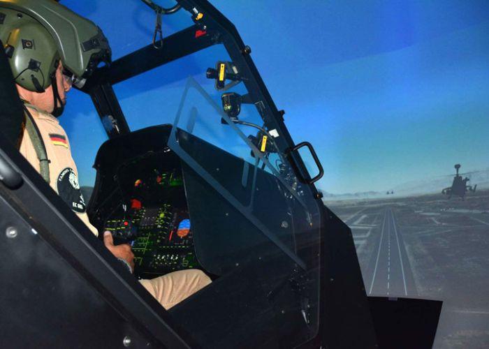 Rheinmetall schließt Modernisierung der Simulatoren für den Kampfhubschrauber Tiger erfolgreich ab