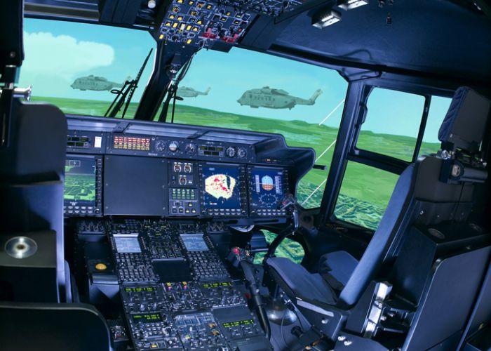 Rheinmetall modernisiert NH90-Flugsimulatoren