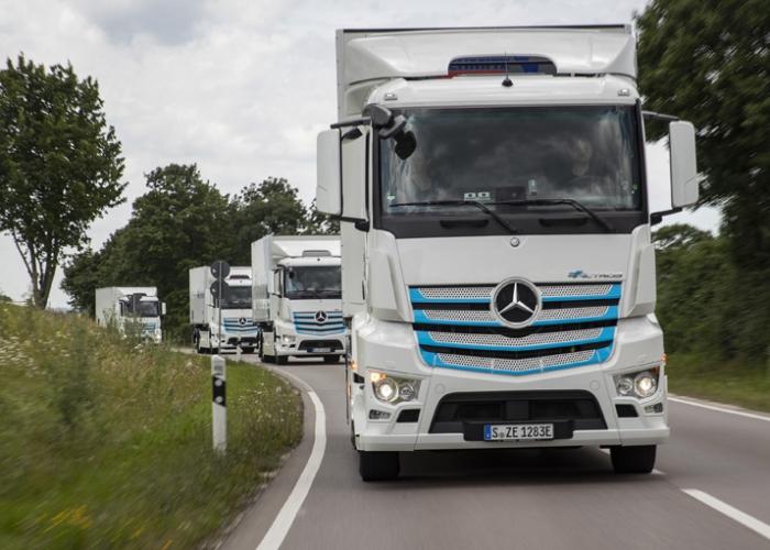 Mercedes-Benz Trucks läutet neue Ära ein: Weltpremiere des eActros am 30. Juni