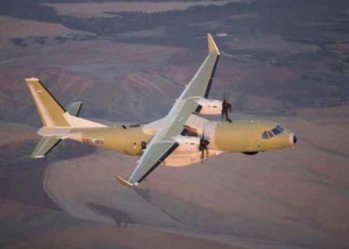 First Royal Canadian Air Force C295 makes maiden flight