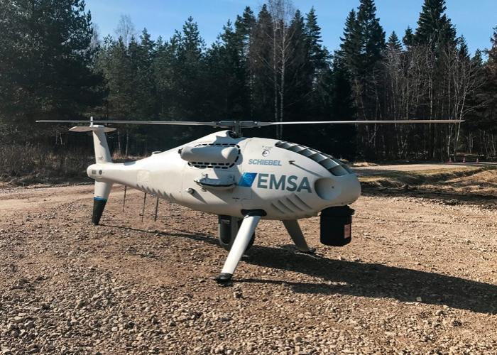 SCHIEBEL CAMCOPTER® S-100 PERFORMS MARITIME SURVEILLANCE FOR EMSA IN ESTONIA