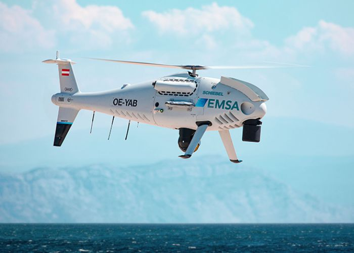 SCHIEBEL CAMCOPTER® S-100 TO PERFORM COAST GUARD SERVICES FOR EUROPEAN MARITIME SAFETY AGENCY IN FINLAND