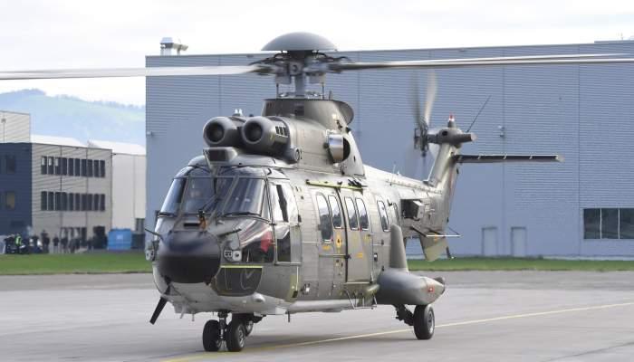 RUAG modernisiert acht Transporthelikopter der Schweizer Luftwaffe