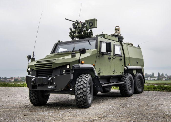 Die Schweizer Armee beauftragt General Dynamics European Land Systems-Mowag mit der Lieferung von 100 EAGLE 6x6 Aufklärungsfahrzeugen