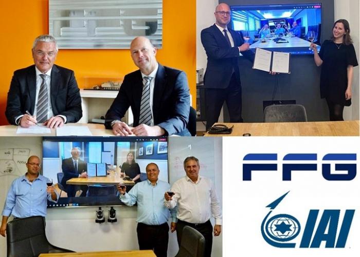 FFG und IAI schließen deutsch-israelische Unternehmenskooperation im wehrtechnischen Bereich