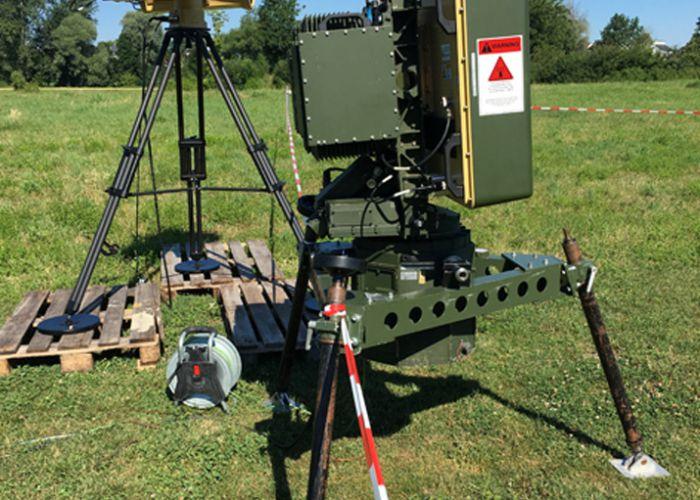 HENSOLDT liefert Xpeller Module für den Feldlagerschutz