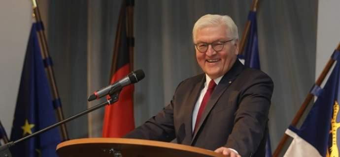 Bundespräsident Frank-Walter Steinmeier besuchte die 58. Historisch-Taktische Tagung der Marine