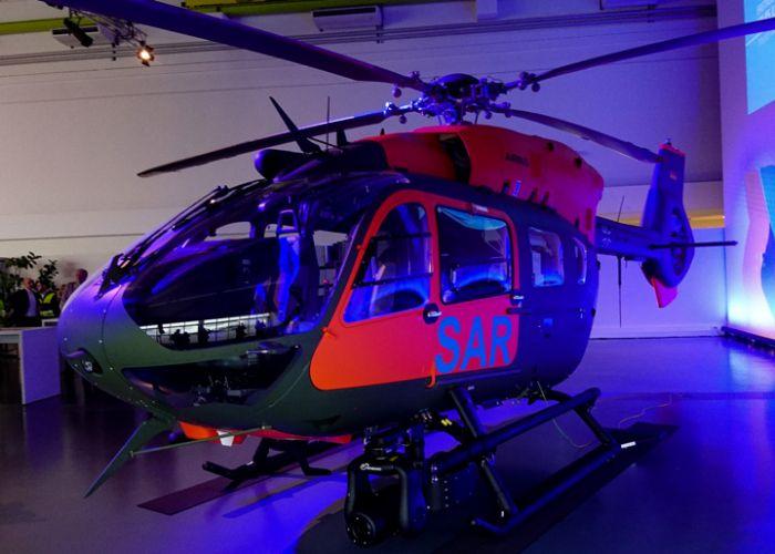 Neuer SAR-Hubschrauber übergeben