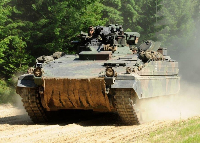 Rheinmetall modernisiert Schützenpanzer Marder für 110 Mio. Euro – Nutzungsdauerverlängerung durch die Bundeswehr beauftragt