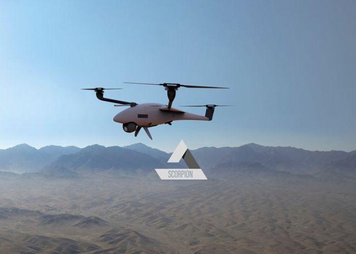 ESG und Quantum-Systems präsentieren UAS-Weltneuheit: Vector und Scorpion