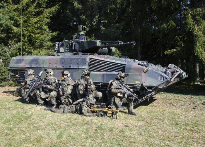 System Panzergrenadier: Rheinmetall modernisiert Ausrüstung und Schützenpanzer Puma für die NATO-Speerspitze VJTF 2023