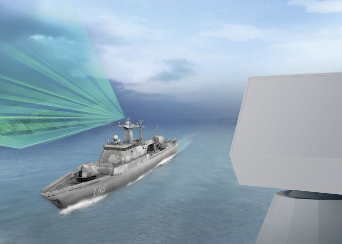 HENSOLDT liefert Schiffsradar für deutsche Korvetten - TRS-4D garantiert höchste Detektionsfähigkeit in schwierigen Küstengewässern