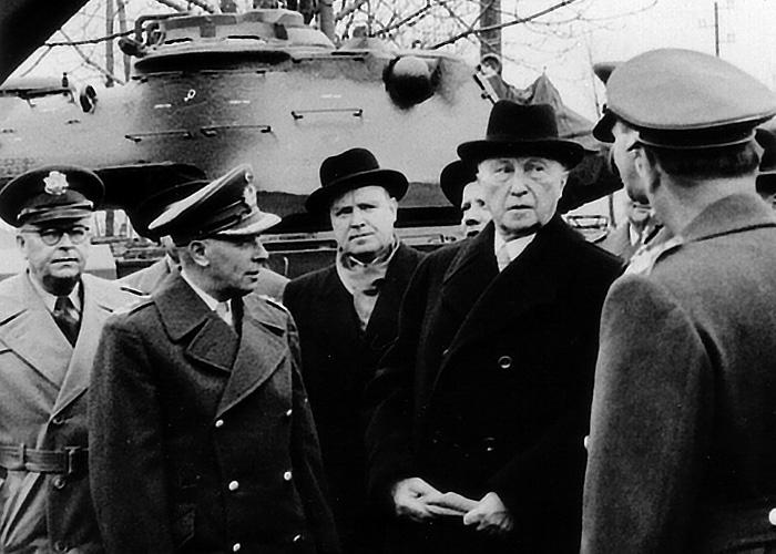 65. Jahrestag der Wiege der Bundeswehr in Andernach