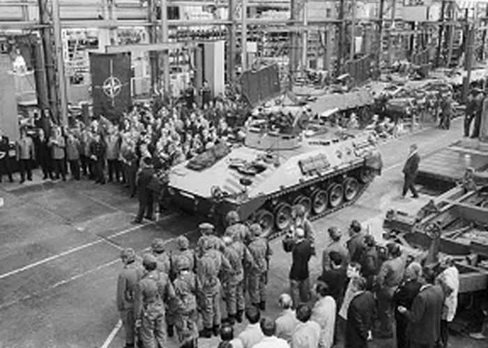 Ein bewährtes Arbeitspferd:  50 Jahre Schützenpanzer Marder