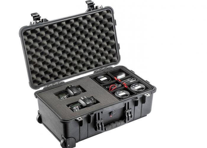 Organisieren Sie Ihre Ausrüstung effizienter als je zuvor mit den neuen Peli™ Hybrid-Koffern